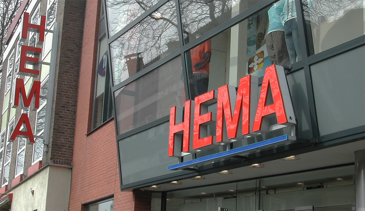 Hema Amsterdam is als merk niet geregistreerd en mogelijk